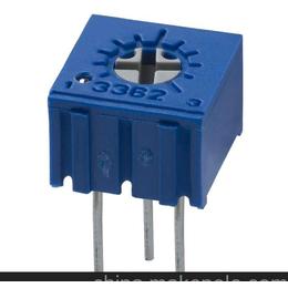 精密电位器3362P BOURNS单圈电位器 顶调电位器