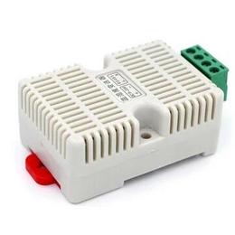 485型扁卡轨温湿度变送器