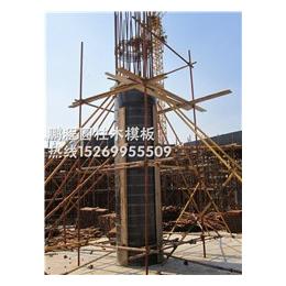 圆柱木板哪家好|通化圆柱木板|弧形木模板来厂考察情况