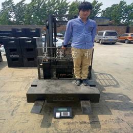 吉林松原1000kg-1吨工程机械配重铁 定制各类砝码
