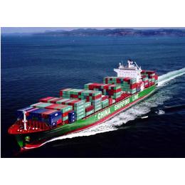 中山到台湾货运专线以国际海运为主