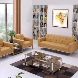 办公家具办公沙发简约现代茶几组合休闲商务沙发办公室接待会
