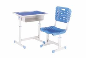 套管升降塑料课桌椅