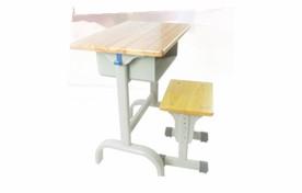 固定橡木板课桌凳