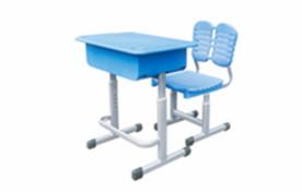 ABS塑料课桌椅(蓝)