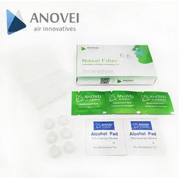 艾诺维清透版隐形防尘口罩采用德国医用级硅胶