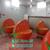 玻璃钢西红柿凳树脂圣女果椅子番茄凳子幼儿园卡通水果椅凳雕塑缩略图3