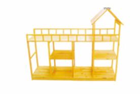 原木玩具柜