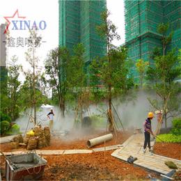 喷雾设备 户外造景喷雾系统 景观雾森设备