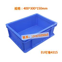 供应厂家直销EU可堆箱4315物流周转箱汽配塑料箱工业中转箱