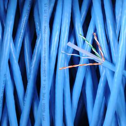 室内六类058无氧铜网络双绞线300米厂家现货直销