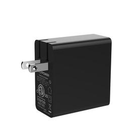 飞天鹰type-c电源适配器厂家45W黑色美规不带线