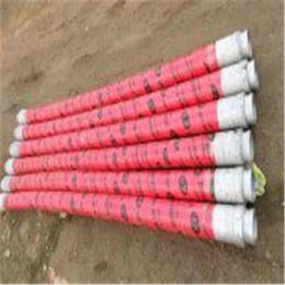 混凝土布料机配件三米软胶管高耐磨高韧性4层钢丝胶管厂家
