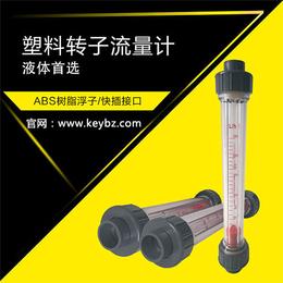 厂家直销塑料转子流量计液体水上海佰质仪器仪表有限公司