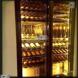 厂家供应不锈钢酒柜订做加工红酒柜葡萄酒柜不锈钢恒温酒柜