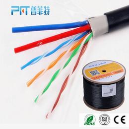 安防监控专用线4芯RVV无氧铜高品质综合线 300米足芯足米