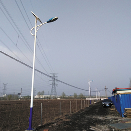 QWY20W6米灯杆led路灯灯头优质高亮太阳能路灯