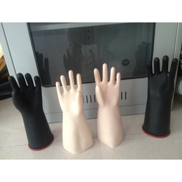 天津五指橡胶手套 电工绝缘手套 绝缘橡胶手套价格 冀航电力