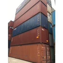 上海二手集装箱旧40尺高柜集装箱租售
