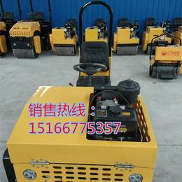 压沥青泥土都可以的座驾式压路机双轮震动压道机规格