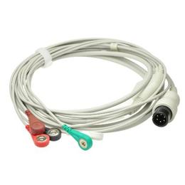 麦瑞金科威一体式五导心电导联线