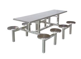 八位不锈钢餐桌