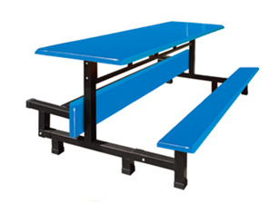 八位条凳可翻转餐桌