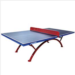 厂家定制 家用室内标准乒乓球桌 户外比赛专用乒乓球台