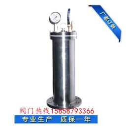 9000型水锤消除器不锈钢活塞式水锤吸纳器给排水专用保护管道