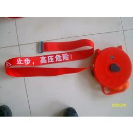 中国制造盒式警示带 盒式安全警示带道路 反光警示带 冀航电力