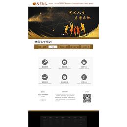 乐合天下(图),济宁网站设计,济宁网站