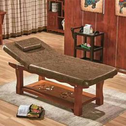 新款实木美容床按摩床 无纺布床面缩略图