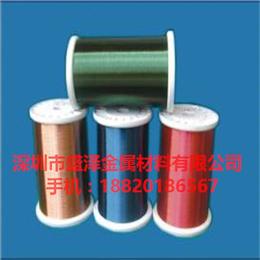 供应深圳QA-1漆包铜线 2UEW漆包铜线生产厂家