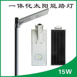 小型太阳能发围墙灯门柱灯15W太阳能路灯价格表
