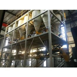 钢铁行业生产好伙伴钢铁保护渣全自动配混供料系统