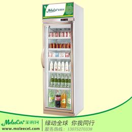 茉莉珂冷柜LG-600J香槟色单门经济型冷藏展示柜厂家直销缩略图
