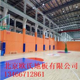 北京欧氏地板篮球实木地板