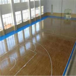 北京欧氏地板新款2018篮球木地板