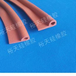 广东涂布机耐高温发泡硅胶密封条硅胶发泡管生产厂家