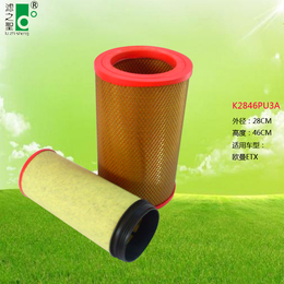 东滤清器厂家直销空气滤清器K2846PU 汽车空气滤清器