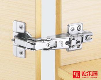 欢乐居整体家居定制材料:C20冷轧钢板普通铰链