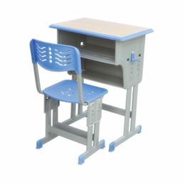 双柱双层带双柱背靠椅课桌椅