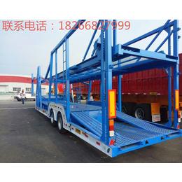轿运车运输半挂车厂家专业定做柜家结构结构轻盈重量轻
