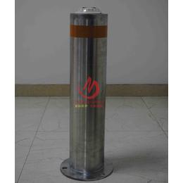 168直径不锈钢固定防护路桩 不锈钢道路警示柱固定柱