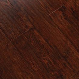 科暖深色老像木石墨烯发热地板