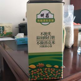 明嘉农业 尔康生态米不抛光最初级打磨