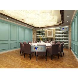 江苏酒店专用不锈钢酒柜香槟色不锈钢恒温酒柜