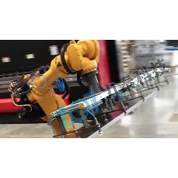 机器人折弯机 <em>力</em>泰科技<em>电</em>液数控自动折弯机钣金折弯系统