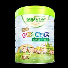 婴儿辅食金典核桃莲子有机营养米粉米糊