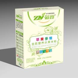 滋婴金胚营养苹果多维水果米粉盒装缩略图